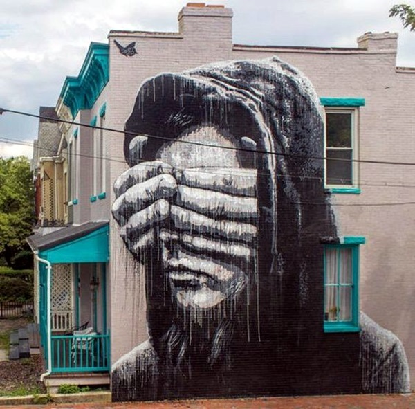 Amazing Huge Street Art on Building Walls (35)