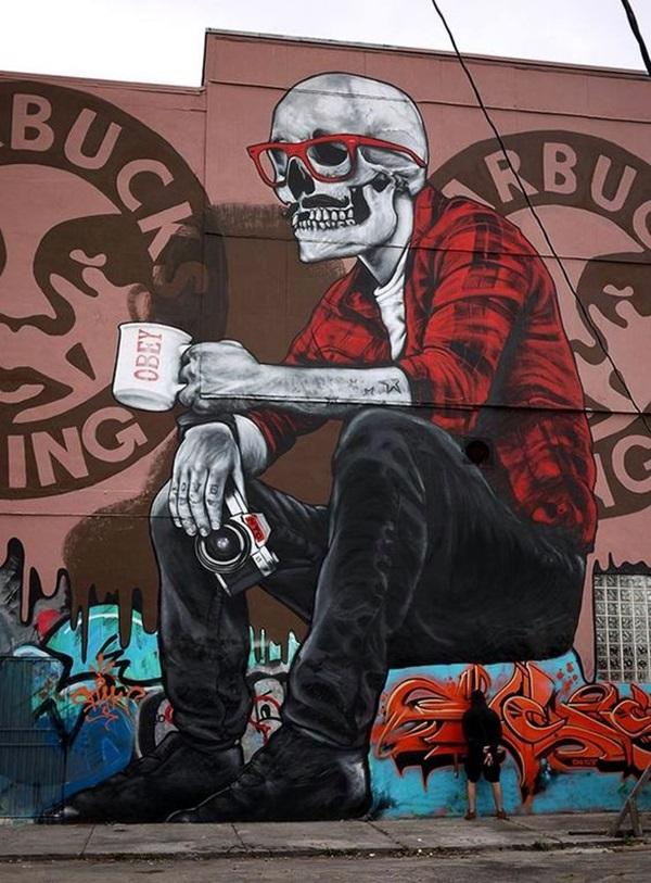 Amazing Huge Street Art on Building Walls (38)
