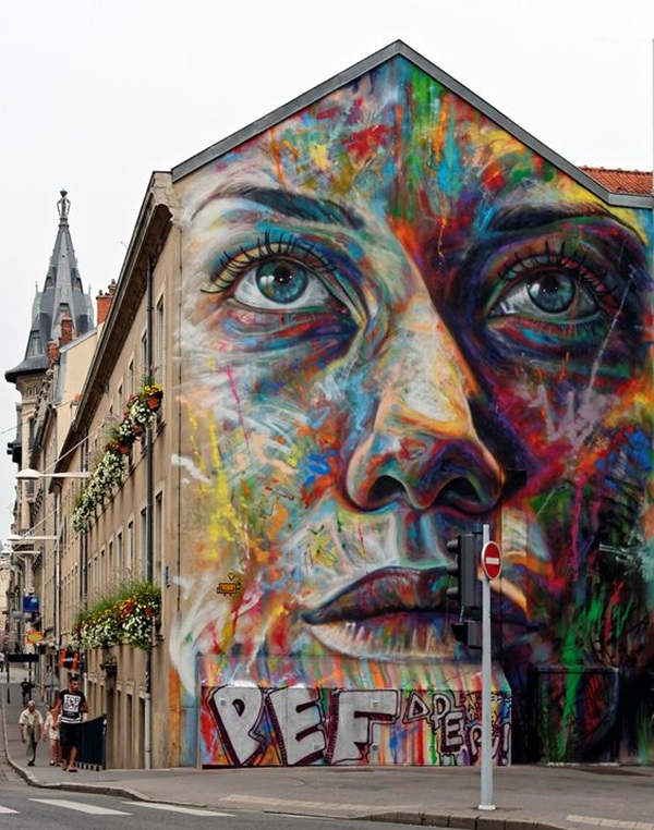 Amazing Huge Street Art on Building Walls (39)