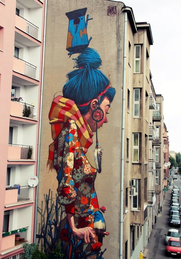 Amazing Huge Street Art on Building Walls (4)