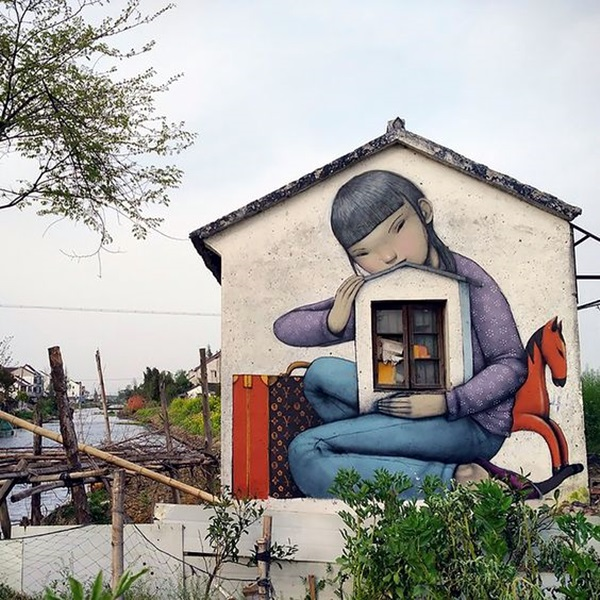 Amazing Huge Street Art on Building Walls (7)