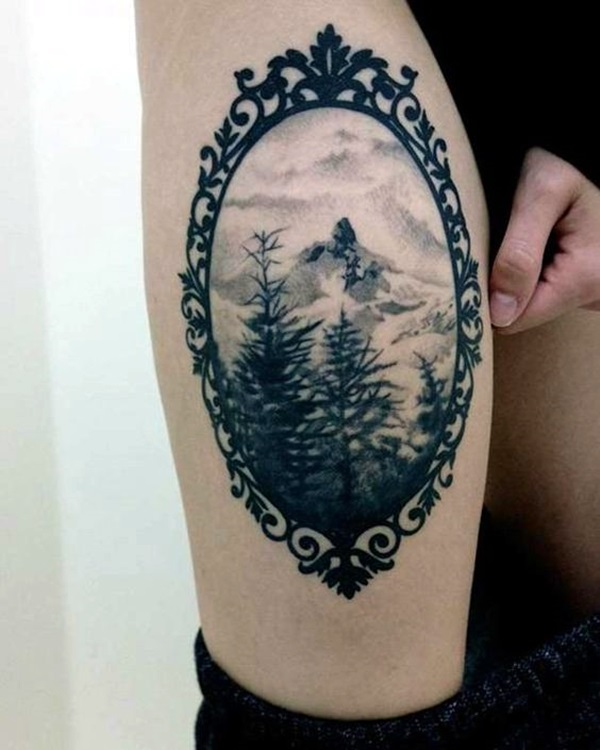 Deep and Super Cool Forest Tattoo Ideas (14)
