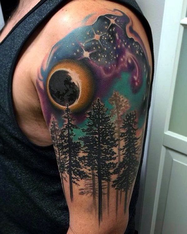 Deep and Super Cool Forest Tattoo Ideas (16)