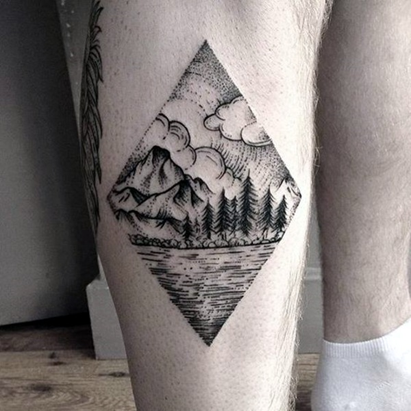 Deep and Super Cool Forest Tattoo Ideas (17)