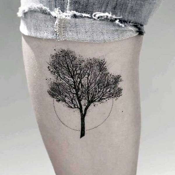 Deep and Super Cool Forest Tattoo Ideas (22)