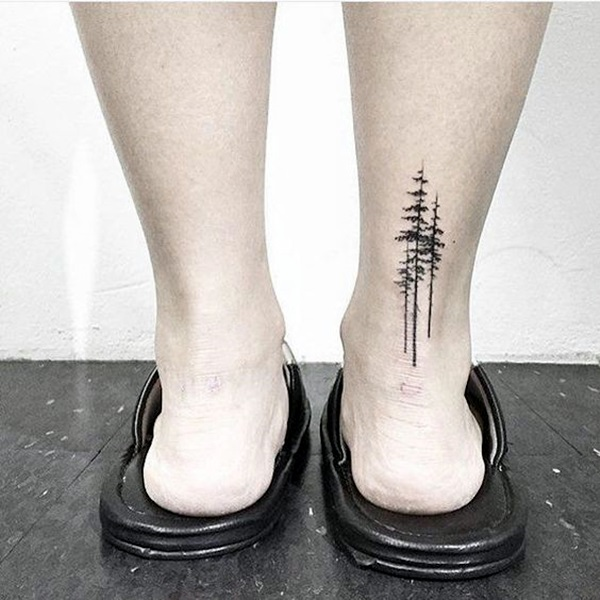 Deep and Super Cool Forest Tattoo Ideas (25)