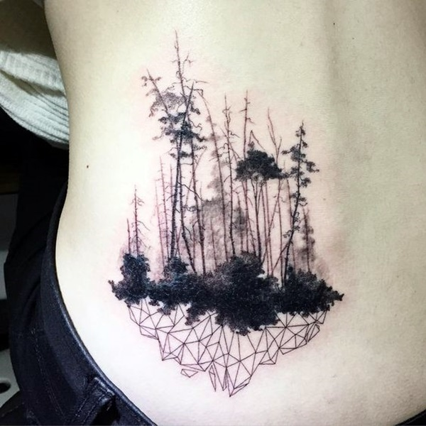 Deep and Super Cool Forest Tattoo Ideas (26)