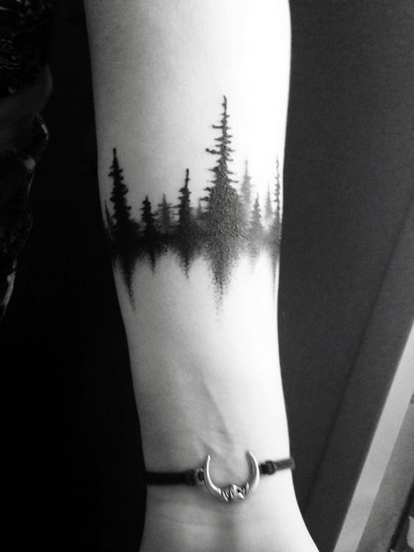 Deep and Super Cool Forest Tattoo Ideas (3)