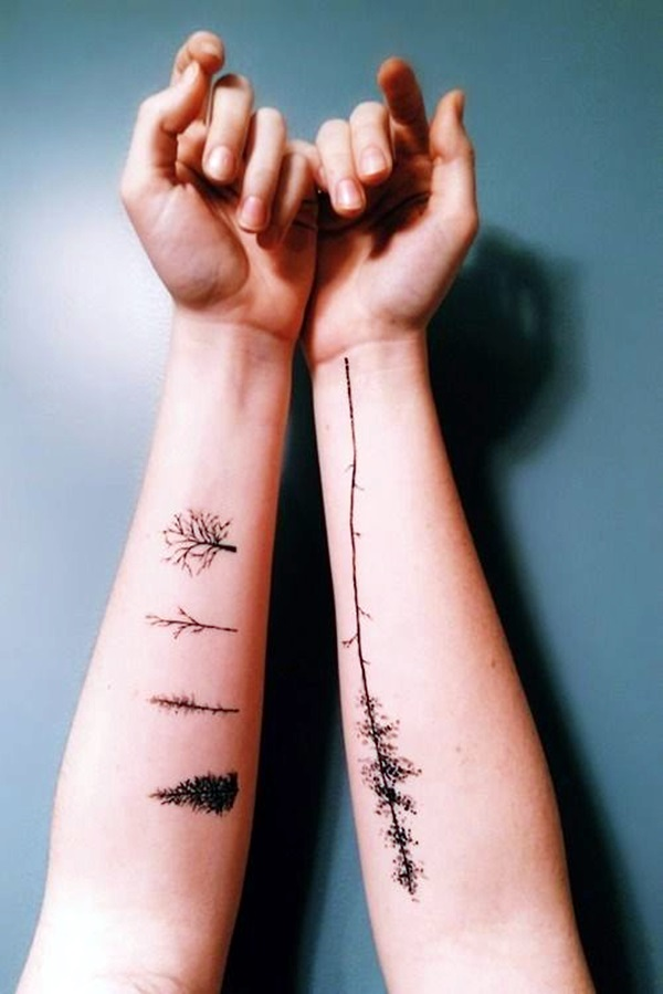 Deep and Super Cool Forest Tattoo Ideas (34)