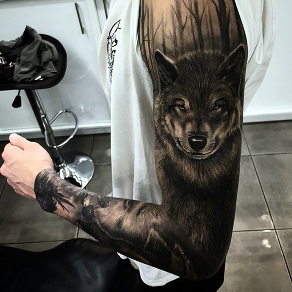Deep and Super Cool Forest Tattoo Ideas (6)