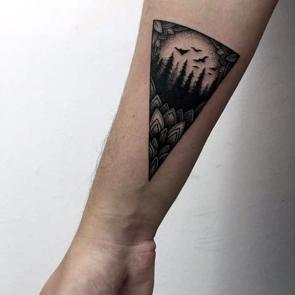 Deep and Super Cool Forest Tattoo Ideas (7)
