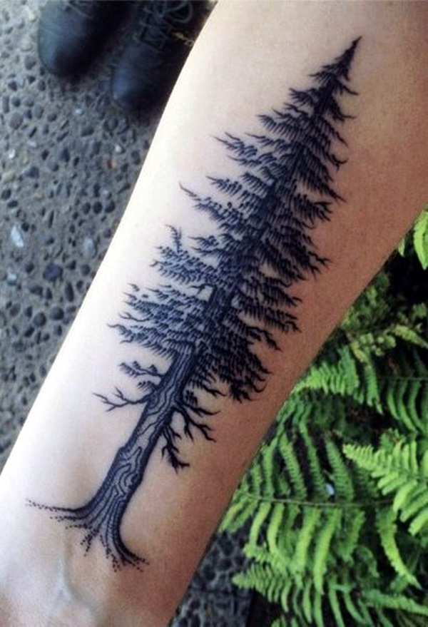 Deep and Super Cool Forest Tattoo Ideas (8)