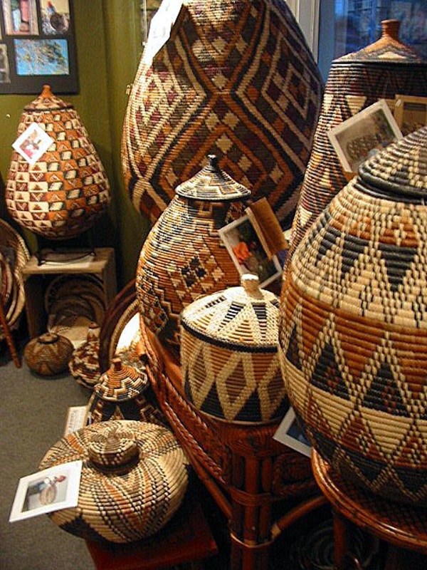 Basketry In Art : Magnificent tribal art examples around the world