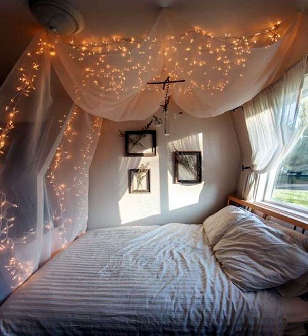 Wedding 1st night bed decoration ideas (18)