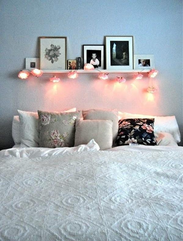 Wedding 1st night bed decoration ideas (19)