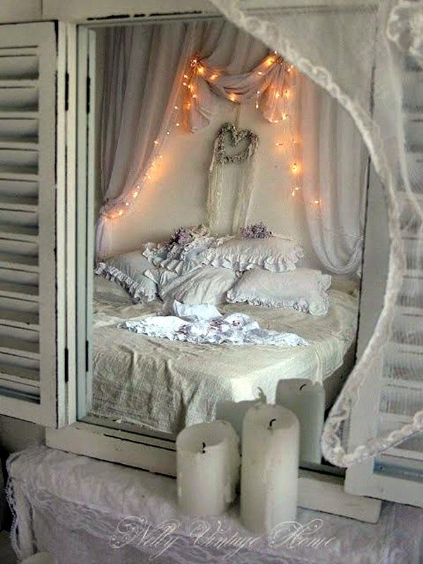 Wedding 1st night bed decoration ideas (29)
