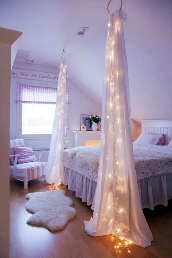 Wedding 1st night bed decoration ideas (7)