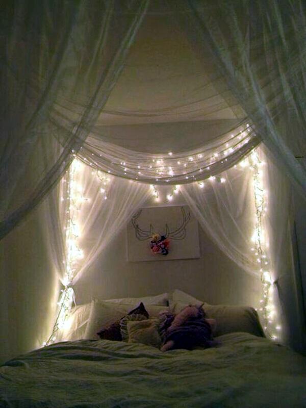 Wedding 1st night bed decoration ideas (8)