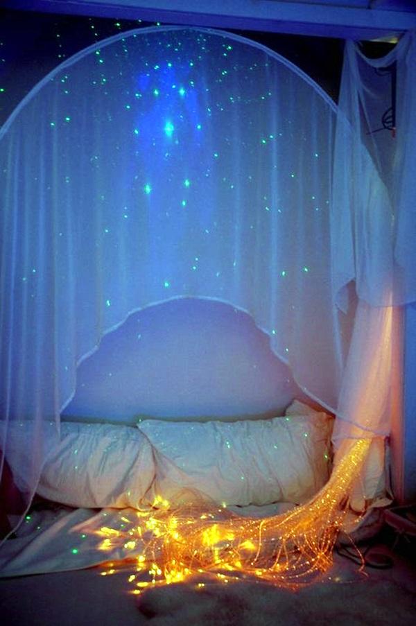 Wedding 1st night bed decoration ideas (9)