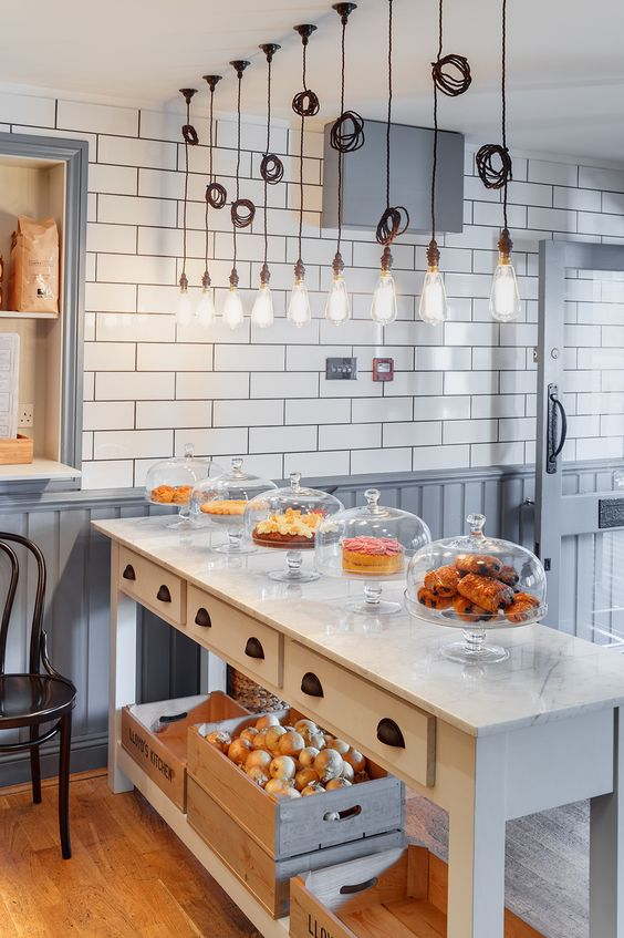 Beautiful bakery interior designs to make you feel peckish for Interior design ideas images