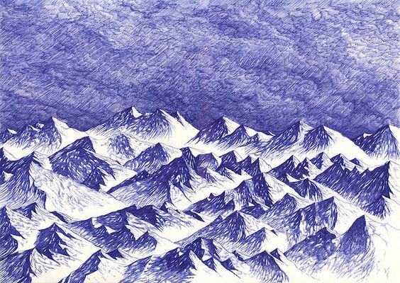 ballpoint pen art 12