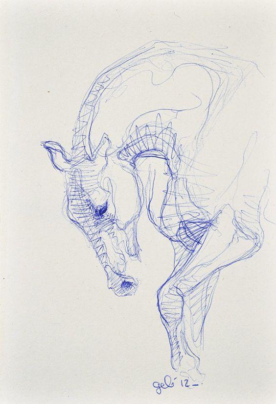 ballpoint pen art 13