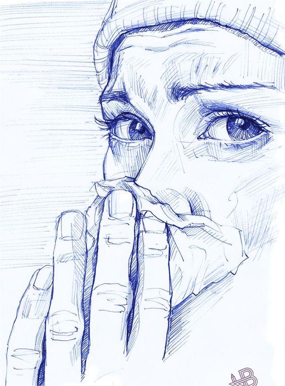 ballpoint pen art 17