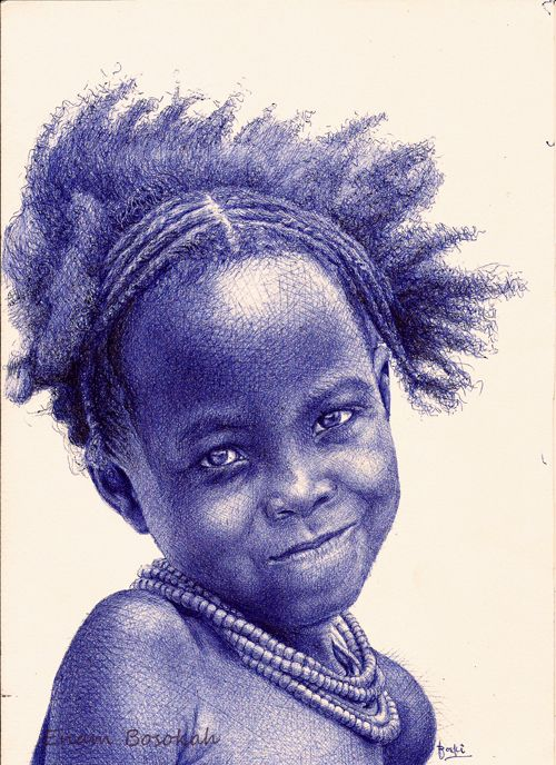 ballpoint pen art black - photo #17