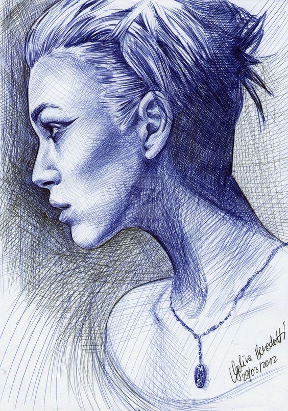 ballpoint pen art 9