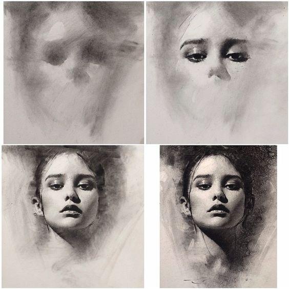 charcoal drawings 2