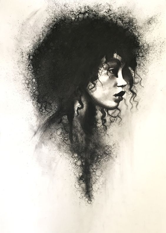 compelling and creative charcoal drawings to capture your eye