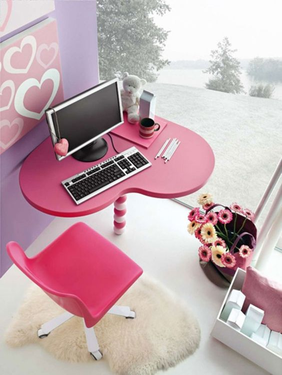 computer table ideas 23