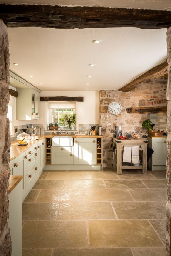Farmhouse Kitchens In British Country Living U K Aol