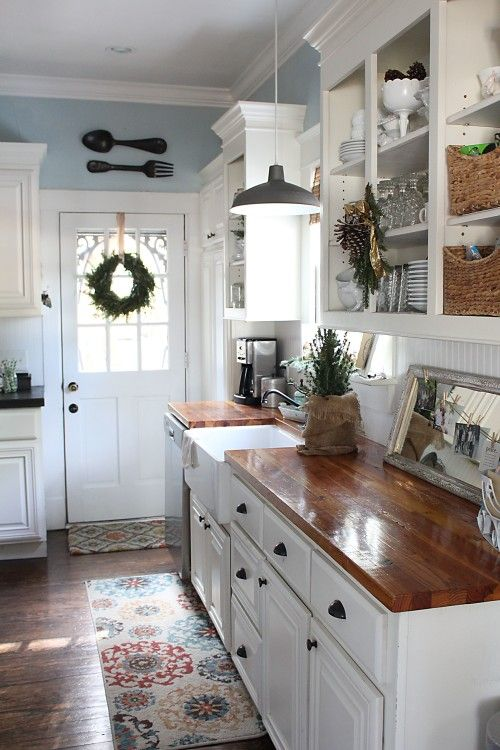 Cute and quaint cottage decorating ideas bored art for Cottage kitchen designs