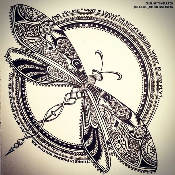 Absolutely Beautiful Zentangle patterns For Many Use (12)