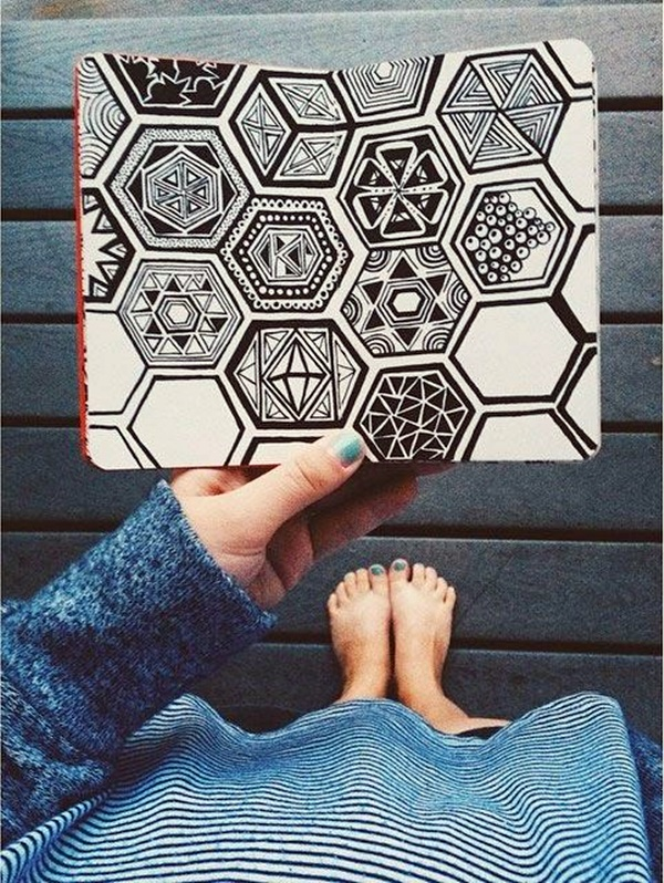 Absolutely Beautiful Zentangle patterns For Many Use (16)