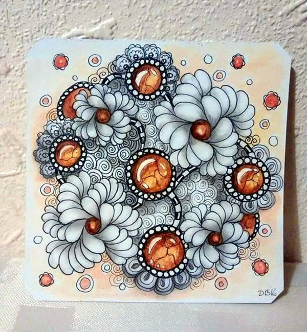 Absolutely Beautiful Zentangle patterns For Many Use (24)