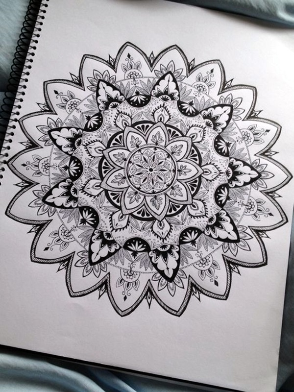 Absolutely Beautiful Zentangle patterns For Many Use (26)