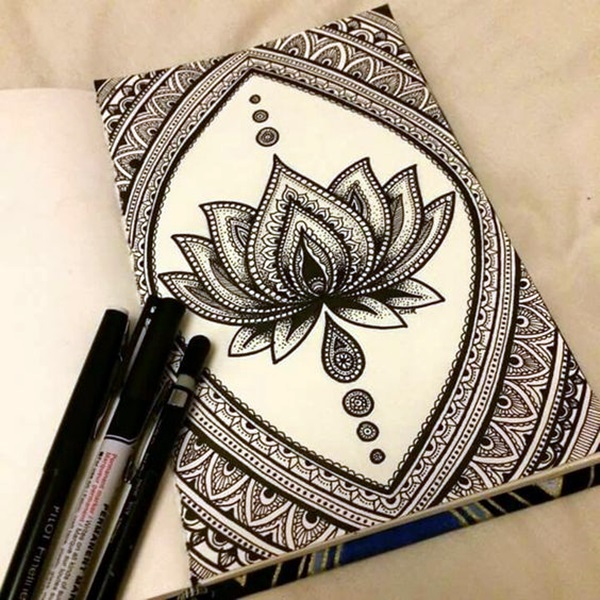 Absolutely Beautiful Zentangle patterns For Many Use (32)
