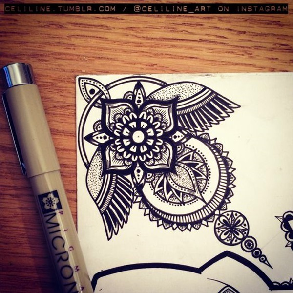 Absolutely Beautiful Zentangle patterns For Many Use (38)