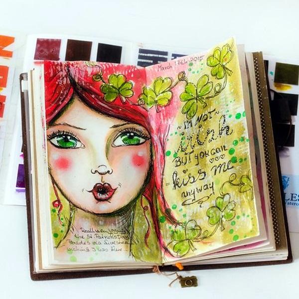 Between the Gaps NoteBook Art Inspirations For Hidden Artists (12)