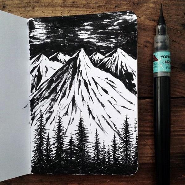Between the Gaps NoteBook Art Inspirations For Hidden Artists (14)