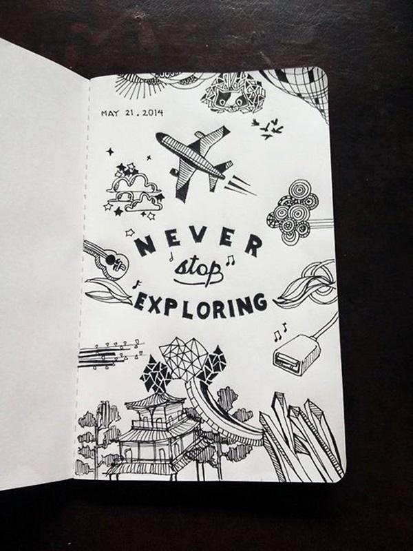 Between the Gaps NoteBook Art Inspirations For Hidden Artists (15)