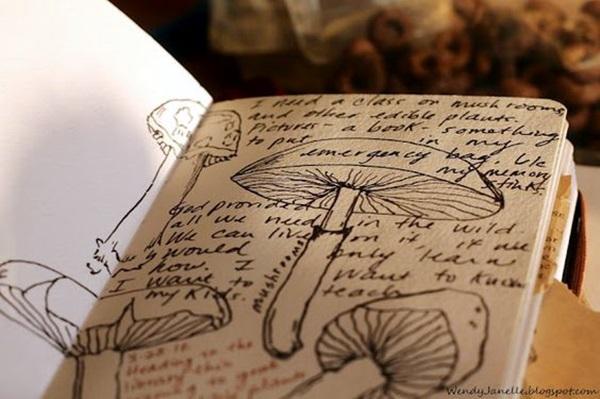 Between the Gaps NoteBook Art Inspirations For Hidden Artists (19)