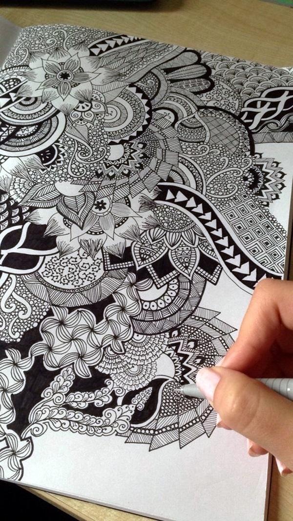Between the Gaps NoteBook Art Inspirations For Hidden Artists (2)