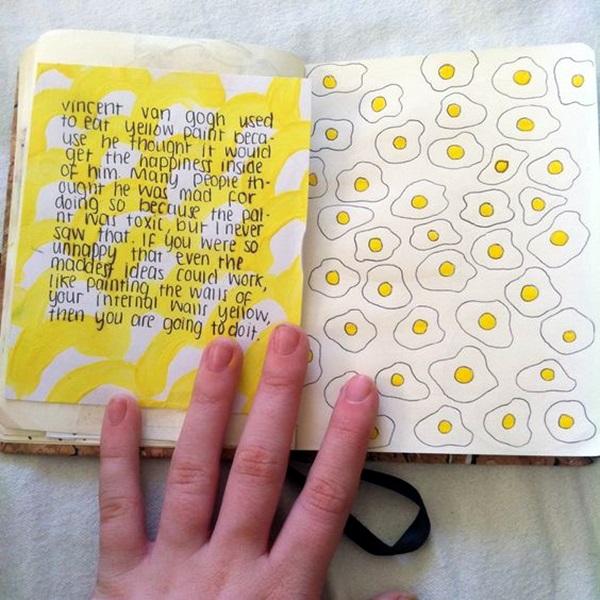 Between the Gaps NoteBook Art Inspirations For Hidden Artists (20)