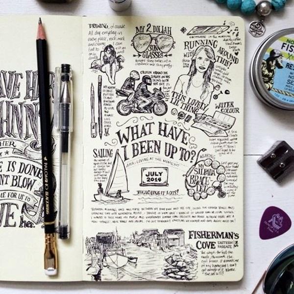 Between the Gaps NoteBook Art Inspirations For Hidden Artists (21)