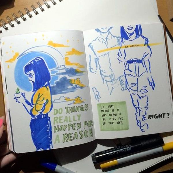 Between the Gaps NoteBook Art Inspirations For Hidden Artists (29)