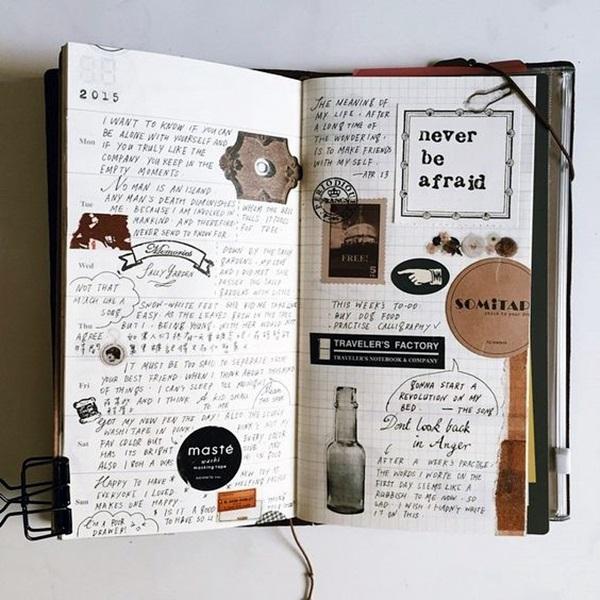 Between the Gaps NoteBook Art Inspirations For Hidden Artists (4)