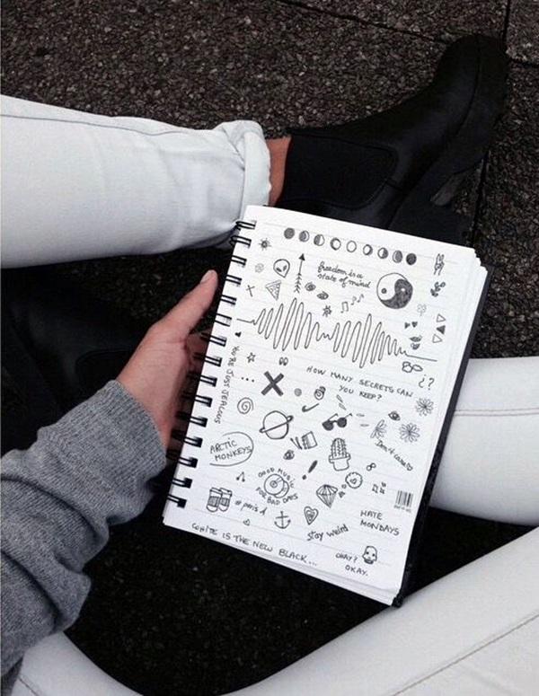 Between the Gaps NoteBook Art Inspirations For Hidden Artists (47)